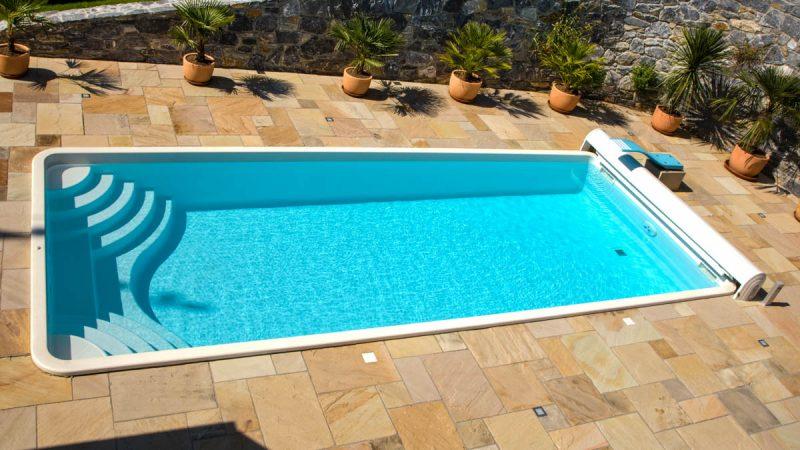 Eckig archive pools und pool berdachungen von wallner for Otto pool oval