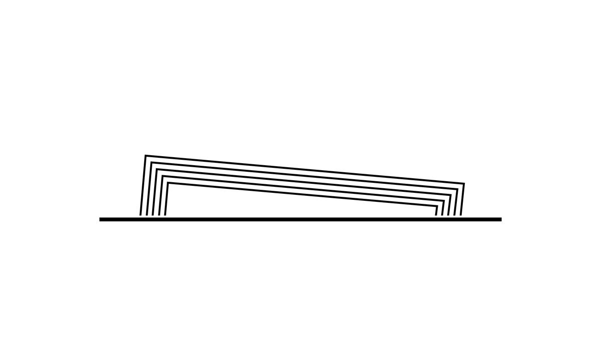 Aufriss von Newline Design Niedrig