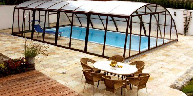 Basic Optima Poolüberdachung