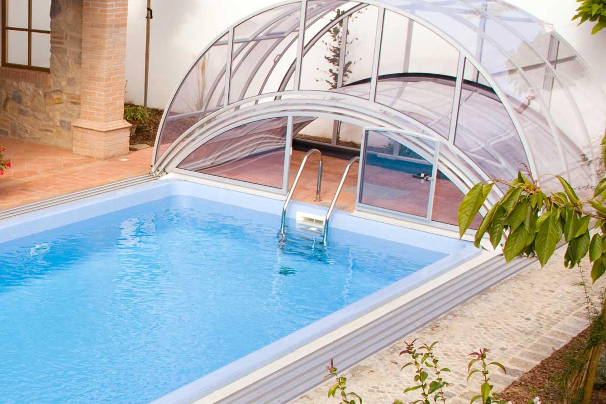 einstiegsleiter f r ihren pool poolzubeh r von wallnerpool. Black Bedroom Furniture Sets. Home Design Ideas