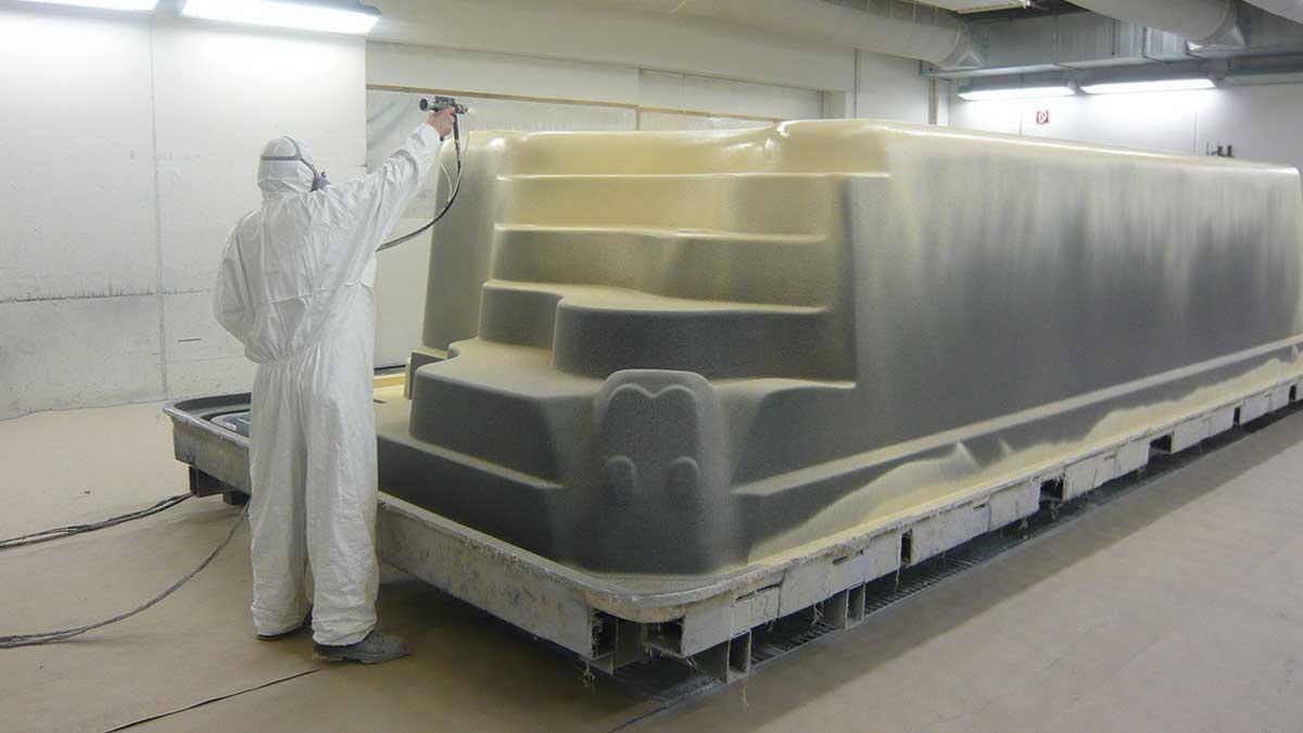 Poolproduktion in Österreich
