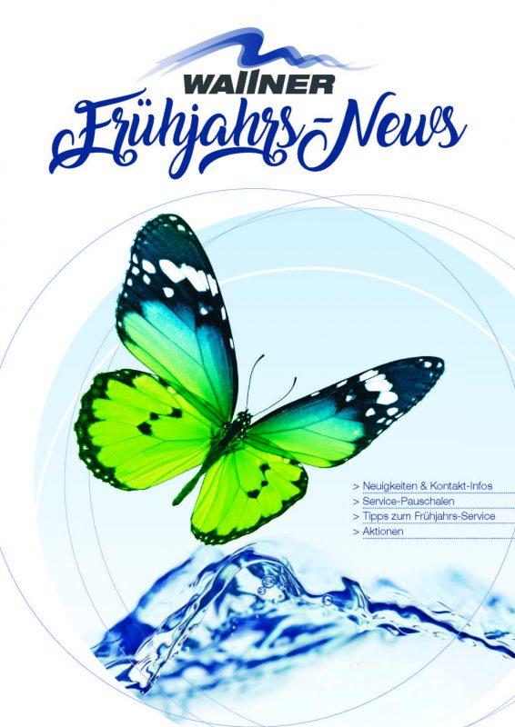 Wallnerpool Frühjahrs-News