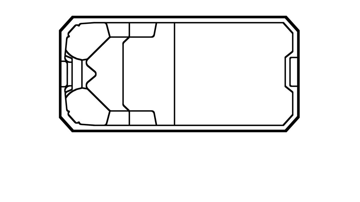 Grundriss von Bora Bora
