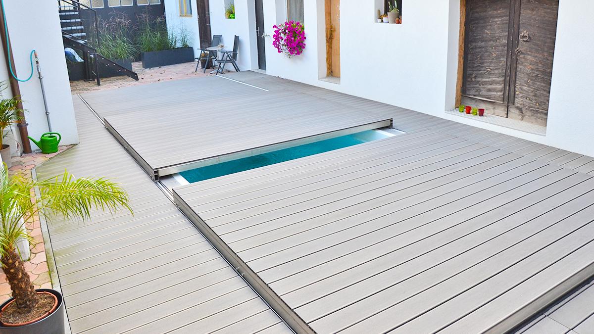 Poolabdeckung Begehbar flex deck pools und poolüberdachungen wallner auersthal