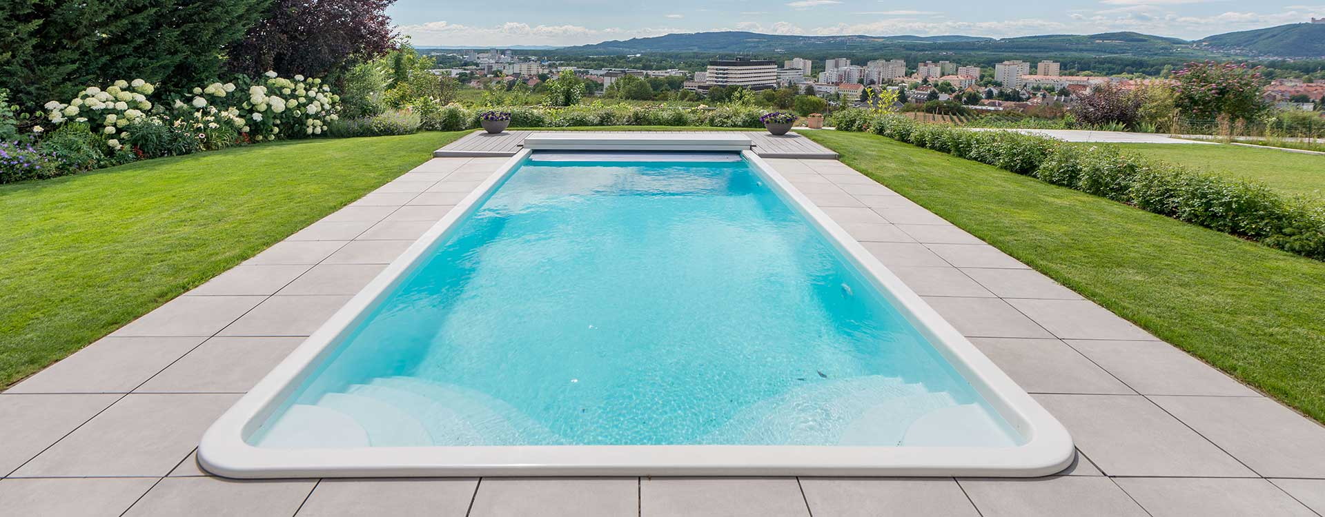 Ein Pool von Wallnerpool