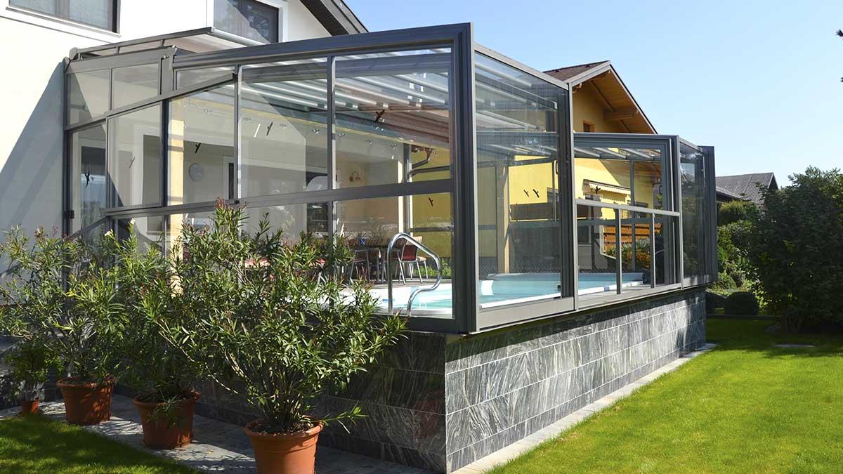 Terrassenverbau von Wallnerpool